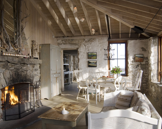 a beautiful french stone home - Stone Cottage Interiors