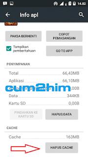 Cara Membersihkan Chache Android