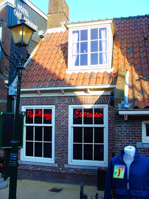 The charming Kroeg or pub in the village of Volendam.