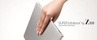 Lg Keluarkan Super Ultrabook Z330