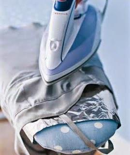 passe roupas e economize energia