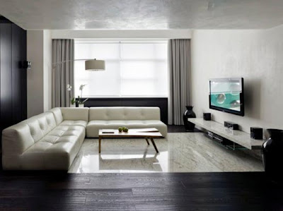 Design Interior Apartment Green Pramuka