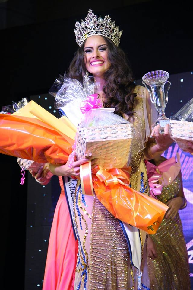 Carolina Moura ganha o Miss Latino América disputado no Panamá