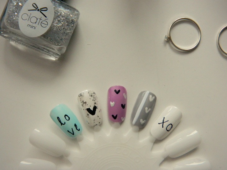 Love From Lisa Valentines Inspired Nail Art