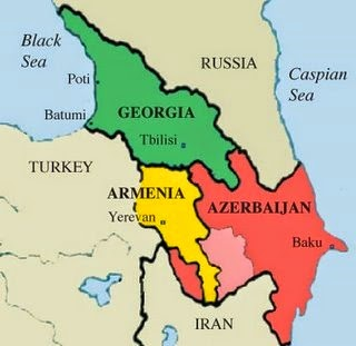Slow Train Coming GEORGIA PART The Wine Country - Yerevan georgia map
