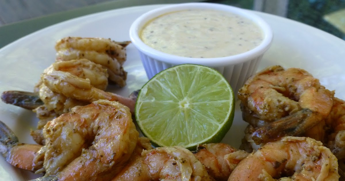 COOK WITH SUSAN: Shrimp with Mustard Lime Dipping Sauce