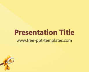 Free PowerPoint Templates: Yellow | Free PowerPoint templates