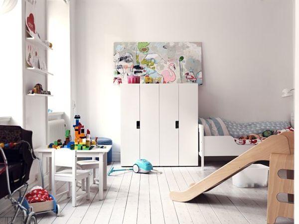 Ikea nios almacenaje finest banco con tela estampada con - Armarios almacenaje ikea ...