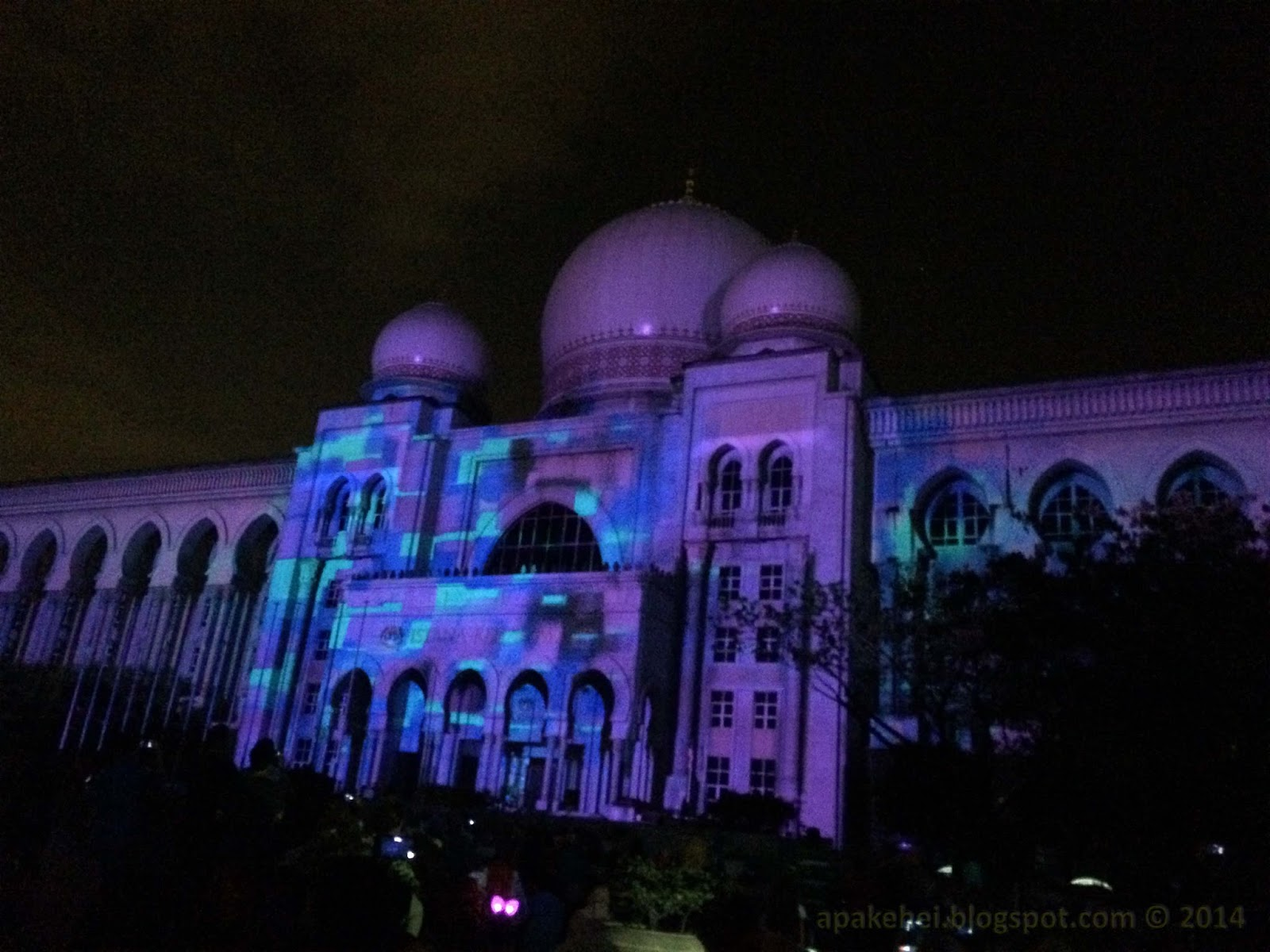 Festival Light and Motion Putrajaya 2014
