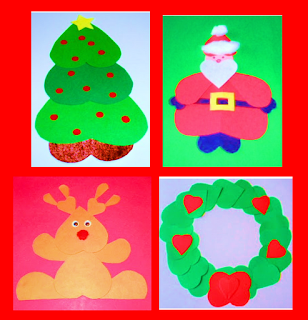 http://learningideasgradesk-8.blogspot.com/2012/12/heart-shaped-christmas-crafts-for-kids.html