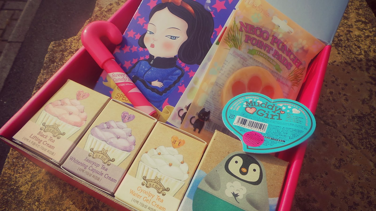 cute korean beauty items