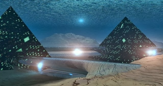Legends of an advanced prehistoric civilization know as Atlantis have been  around since the beginning of history  but previously those who searched  for it. Atlantis Found  Underwater Pyramid Found In Azores 2013   ADG  UK