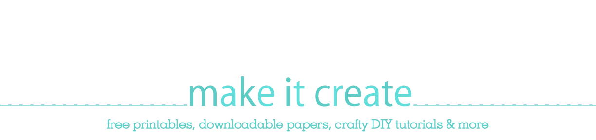 The Latest Find&#39;s Make It Create - DIY, Tutorials, Recipes, Digital Freebies