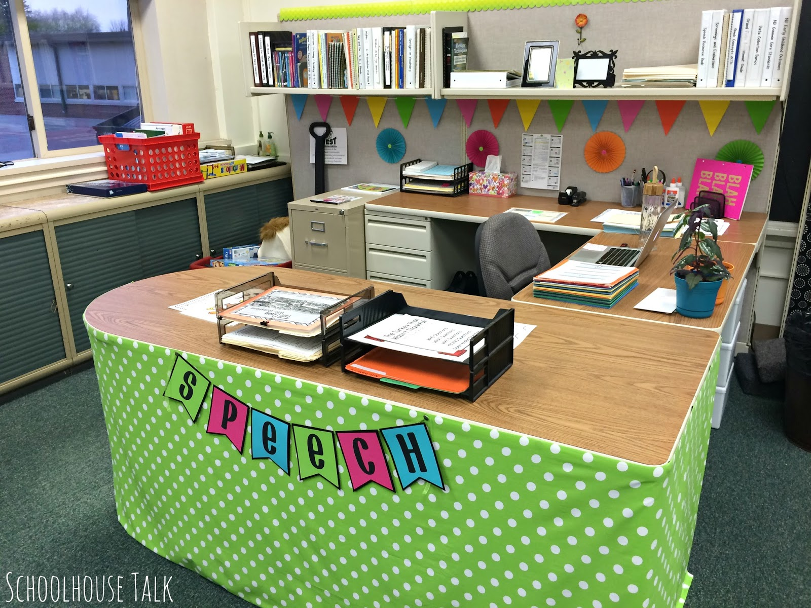 Schoolhouse Talk!: 2015 Speech Therapy Room Tour (Part 2)