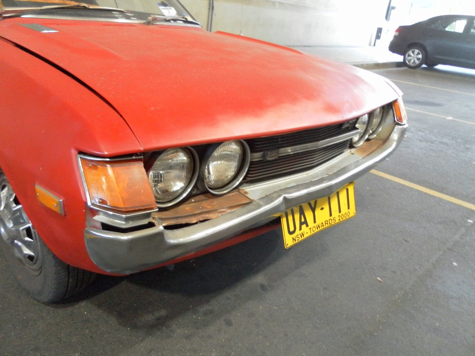 Aussie Old Parked Cars 1973 Toyota Celica Lt 1600 Automatic Ta22 Gt