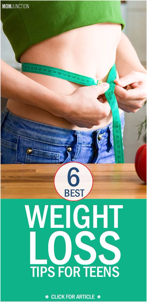 6 Best Weight Loss Tips For Teens