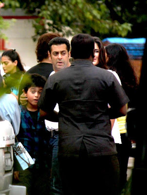 Salman Khan at ETT screening