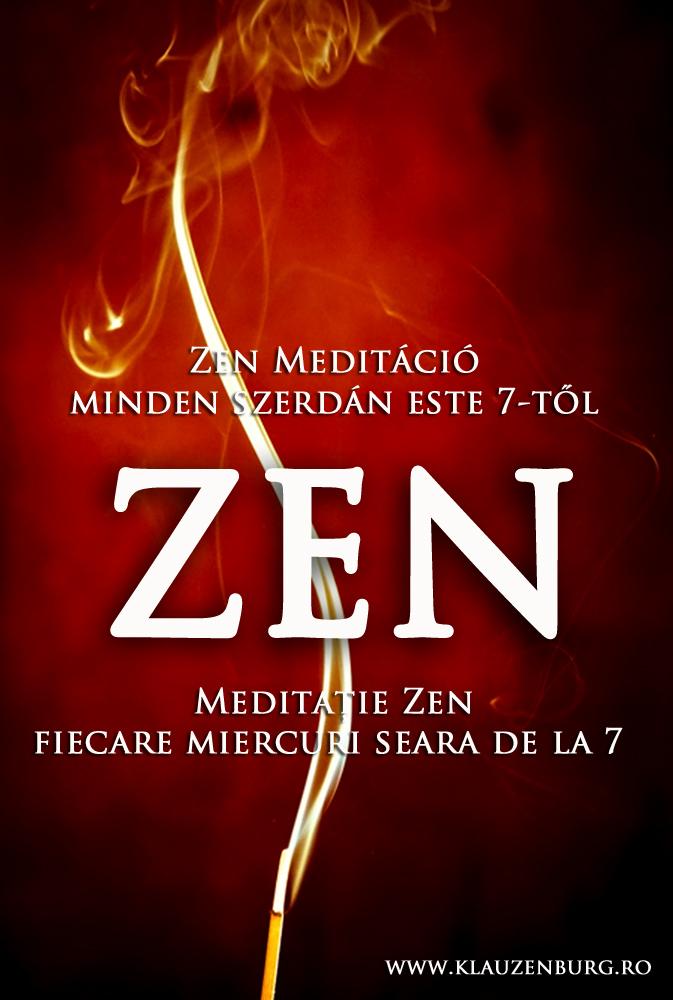 zen, zazen, meditáció, Kolozsvár, rinzai, szessin