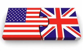 USA/UK Flags