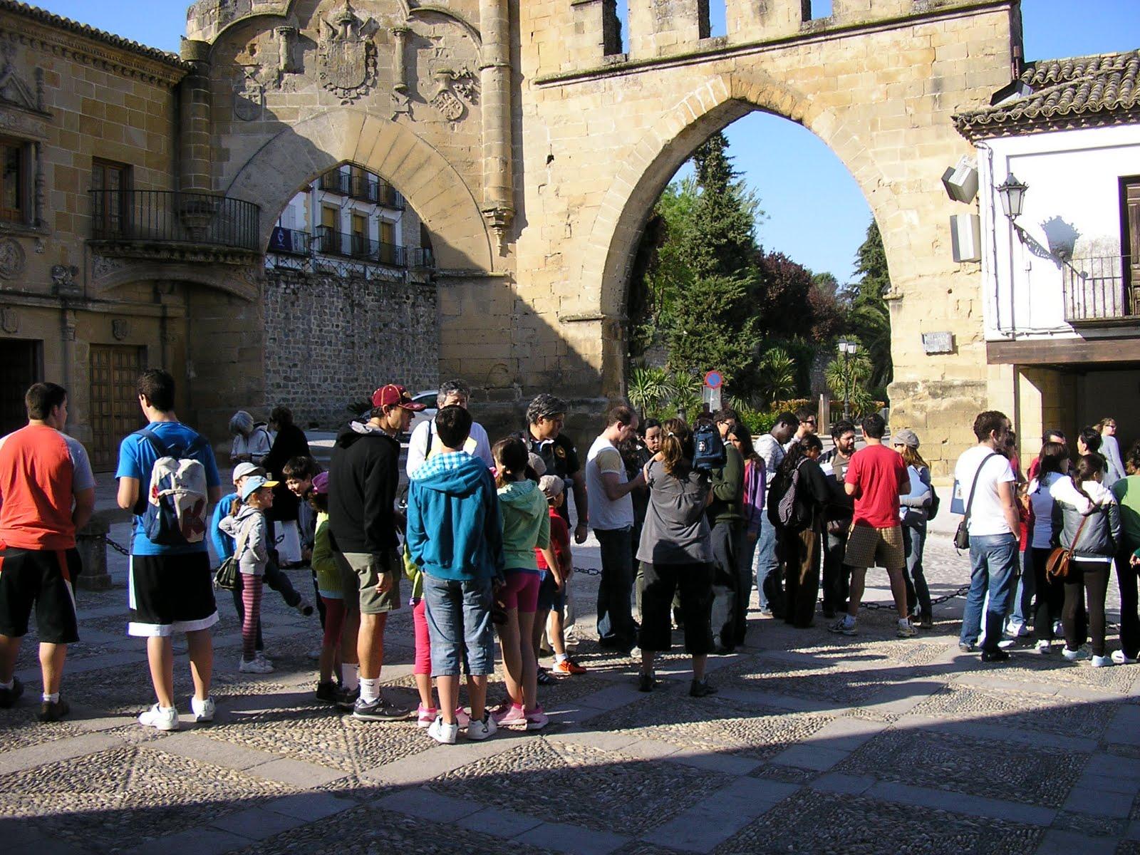 Foto de la actividad en Baeza - clic para ver origen