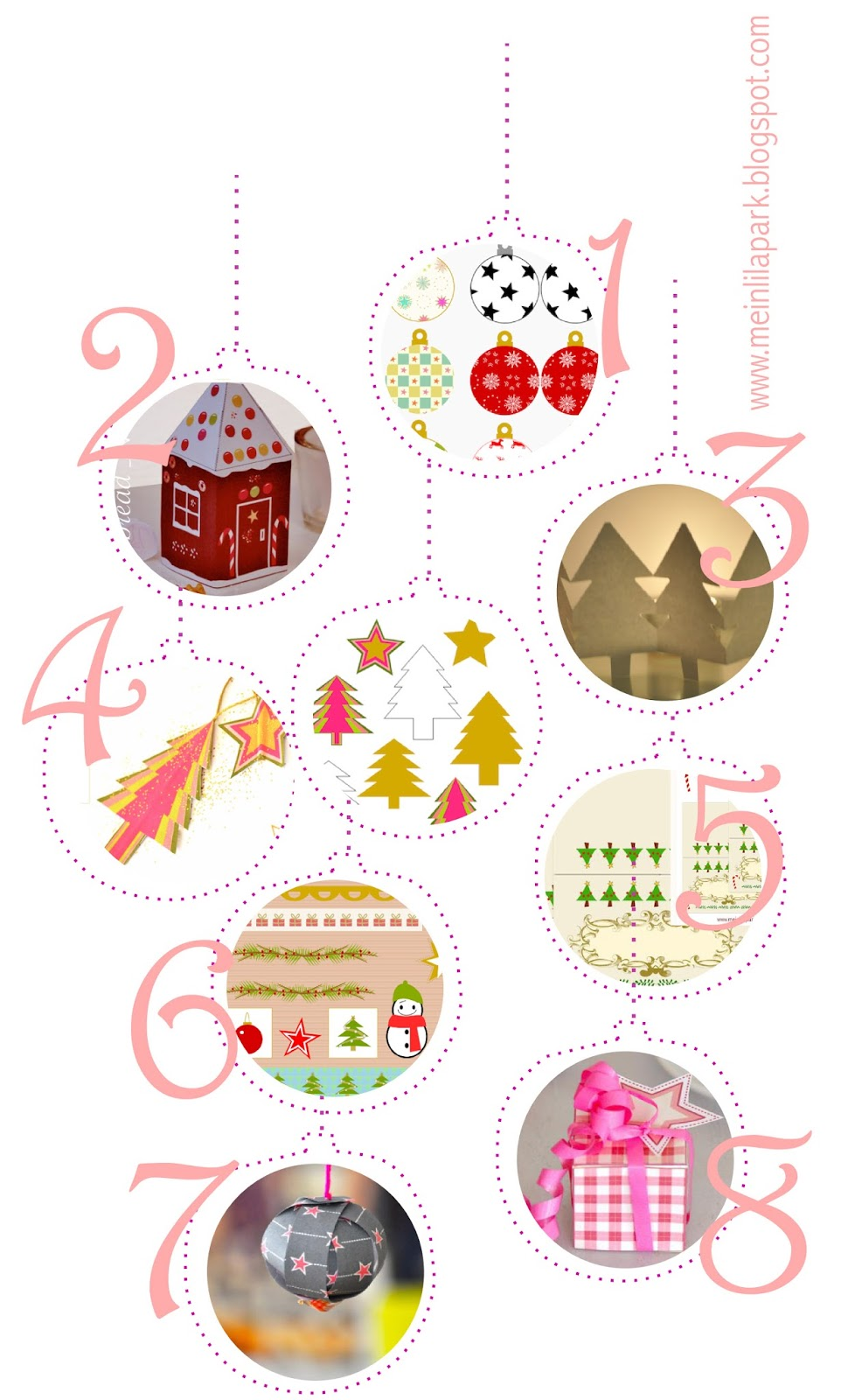 This is a picture of Crush Free Printable Christmas Decorations