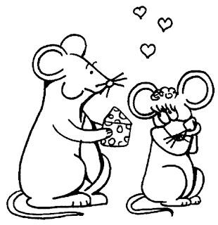 Desenhos de Rato