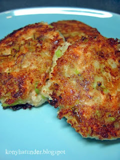 salmon-leek-cakes