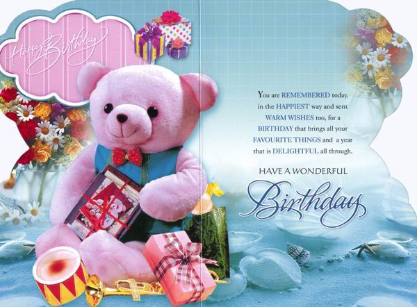 Doc550326 Birthday Wish Cards Free Downloads Birthday – Free Birthday Cards Download
