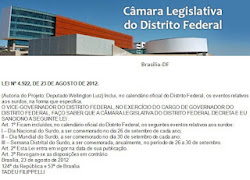 Câmara Legislativa do Distrito Federal - Surdos