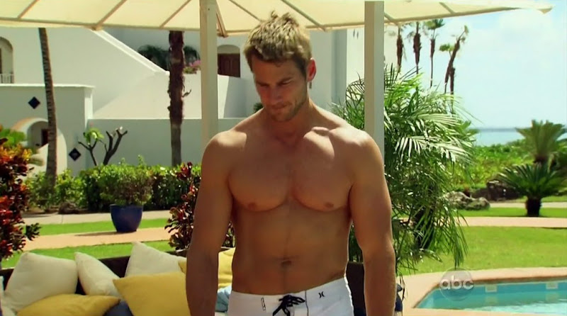 Brad Womack Shirtless on The Bachelor s15e07