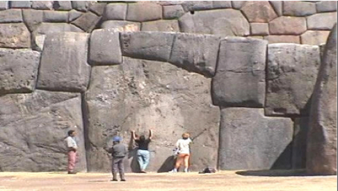 Solving the Mystery of the Peruvian Pre-Inca Stonework 441C-Image+Sacsayhuaman+Walls