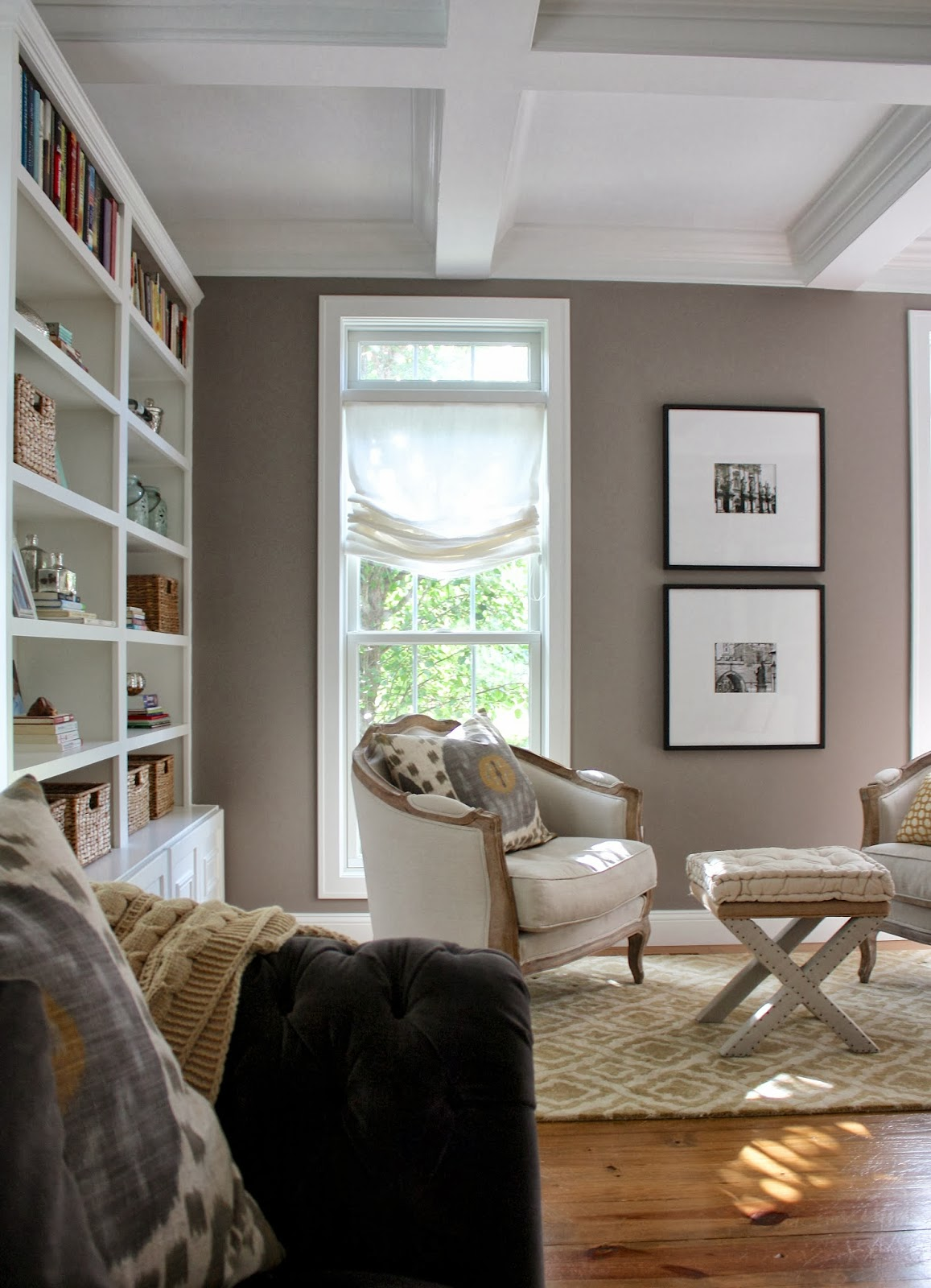 The Yellow Cape Cod: Before/After Living Room Makeover~A Design Plan Comes  To Life Part 59