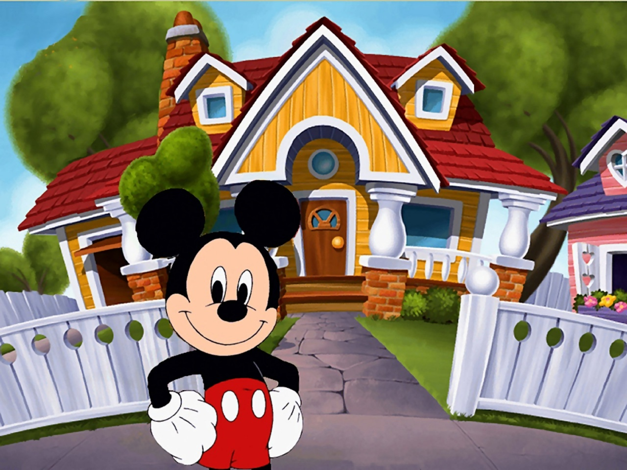 Funny Picture Clip: Mickey Mouse Desktop Wallpapers, Free Mickey Mouse