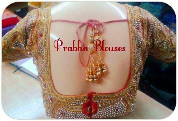 fashion designer saree blouse