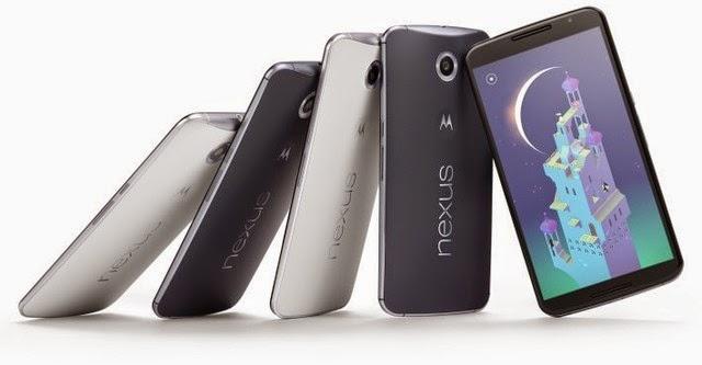 Google chính thức công bố Nexus 6 và Nexus 9