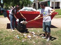 La Cámpora en la Primera Sección: Jornada solidaria en Navarro