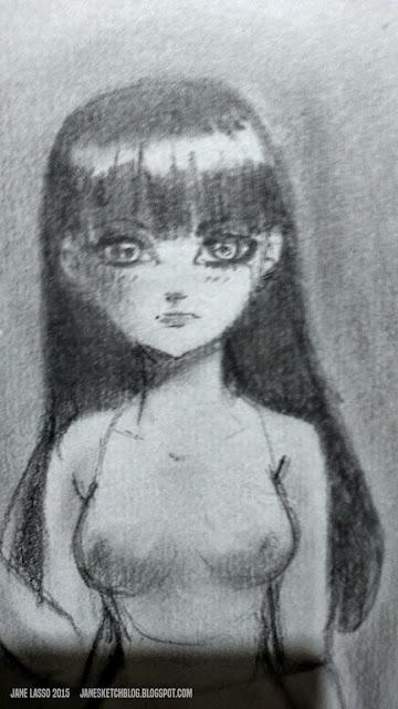 Dibujos de chica manga