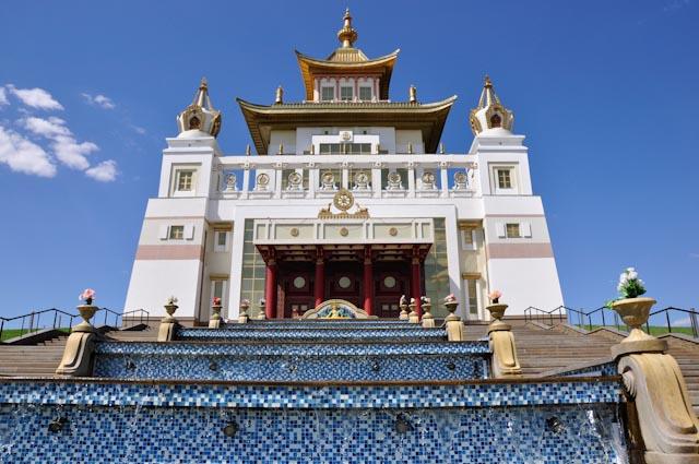 Templo budista en Kalmukia