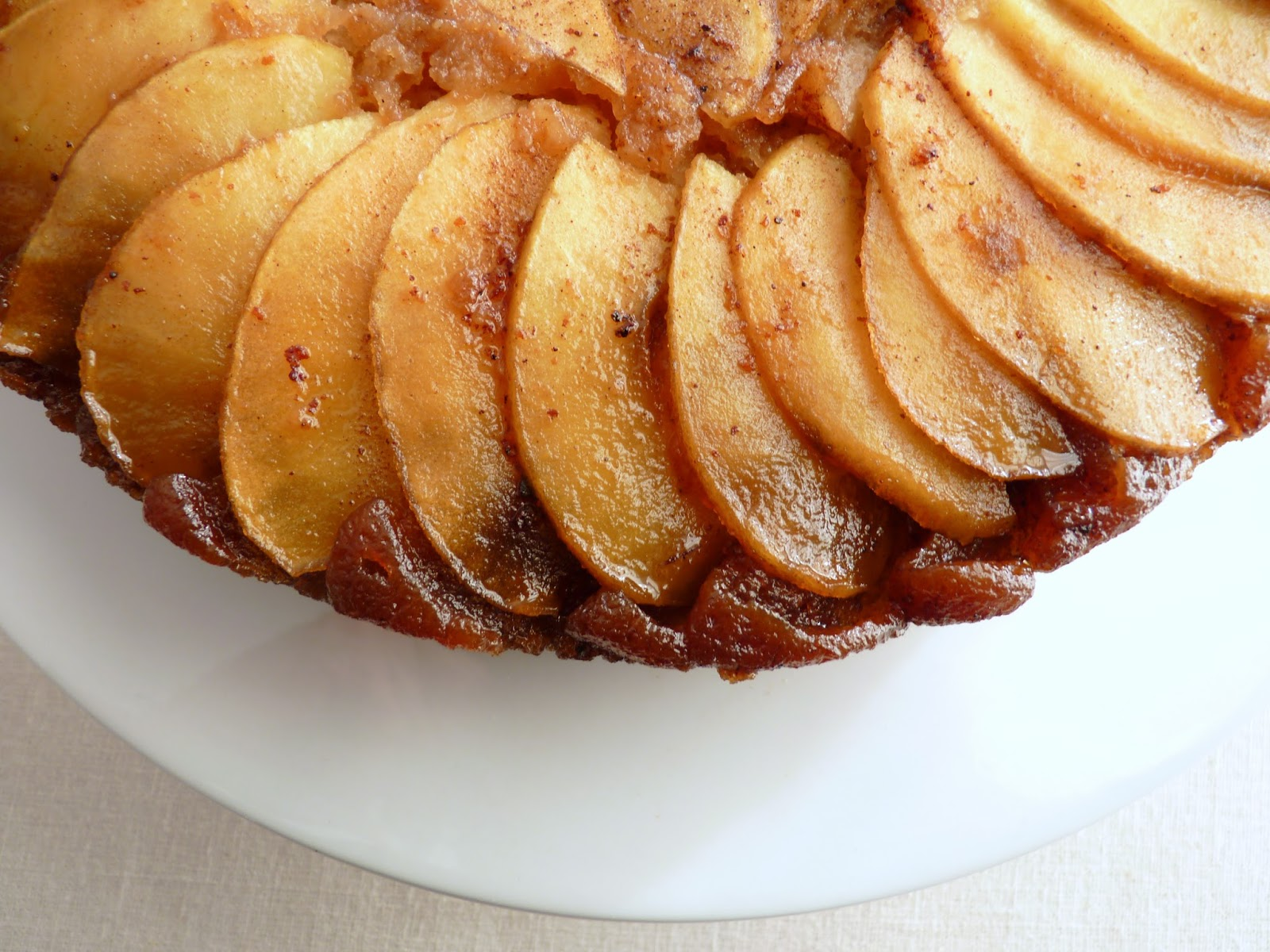 pastry studio: Apple Rum Upside Down Cake