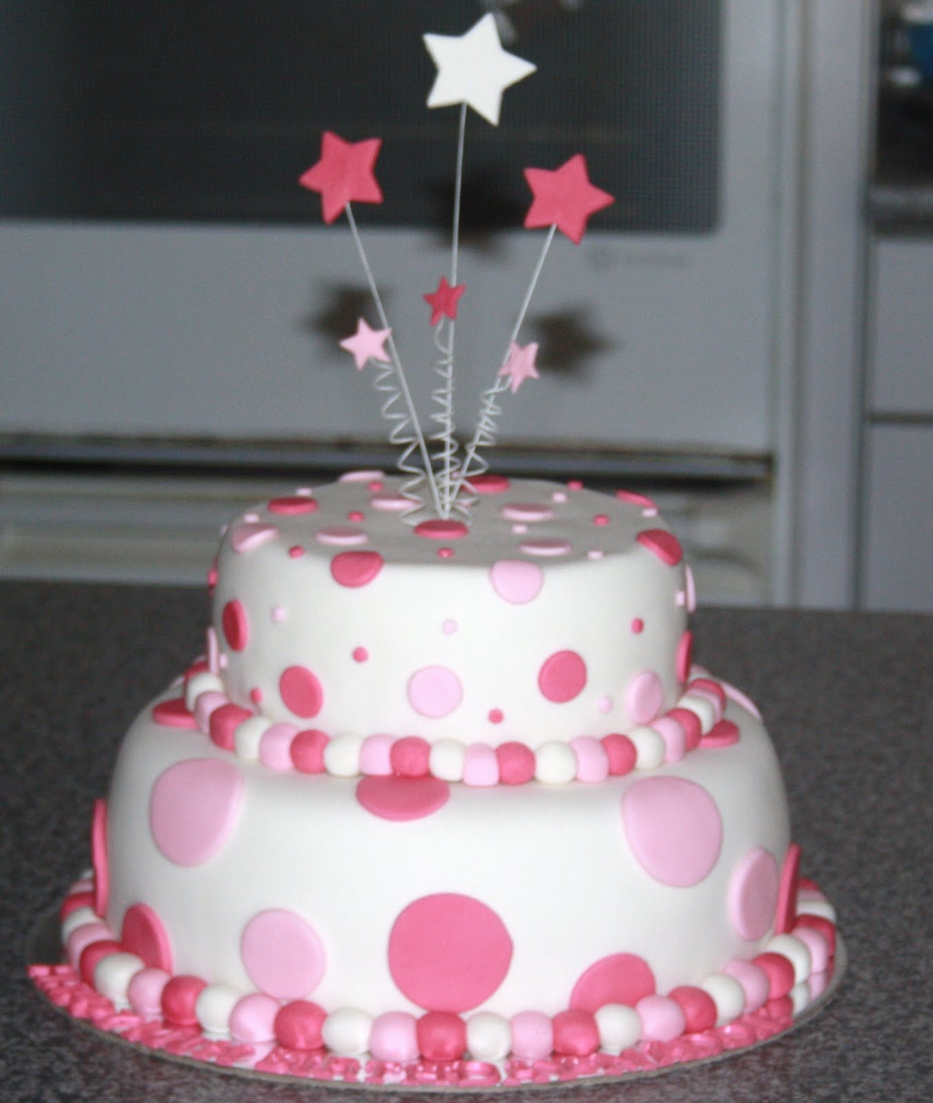 Cake Decorating Dots : Cake Decorating Dots