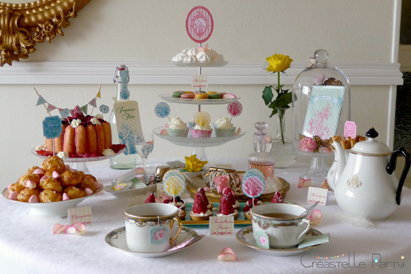 Boudoir sweet table
