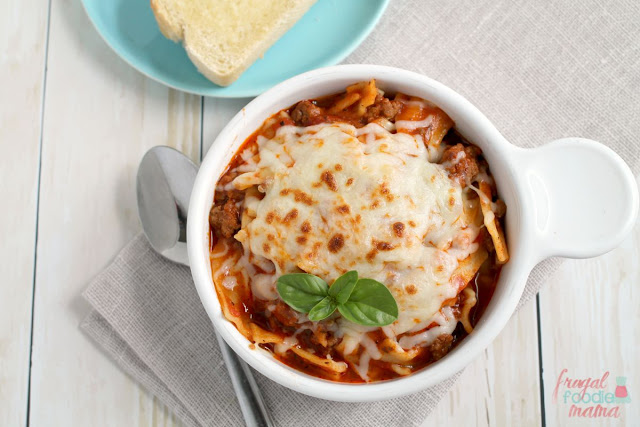 Enjoy all the gooey, cheesy goodness of a homemade lasagna in just 30 minutes with this easy to make Weeknight Lasagna Soup.