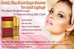 Cosmetice `Revolution cu aur de 24k si Ser anti imbatranire