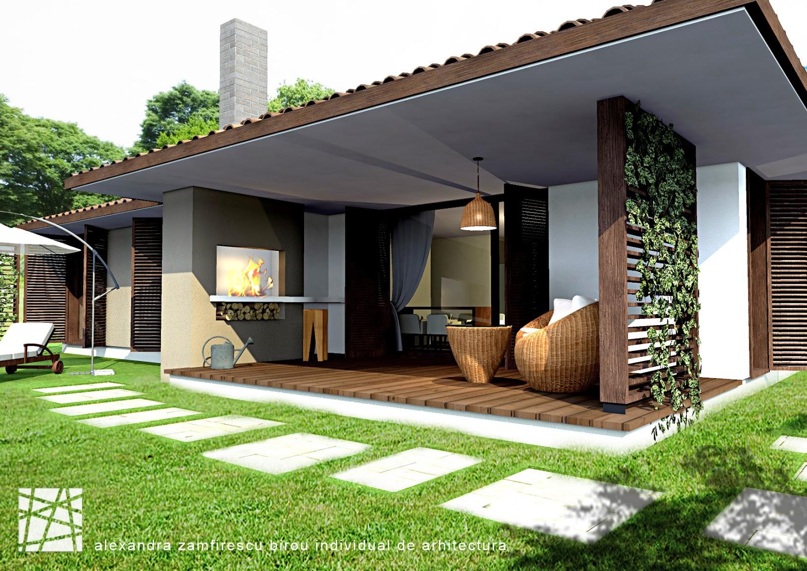 Arhitectura design locuinta parter 4 camere 120mp for Case parter 3 camere