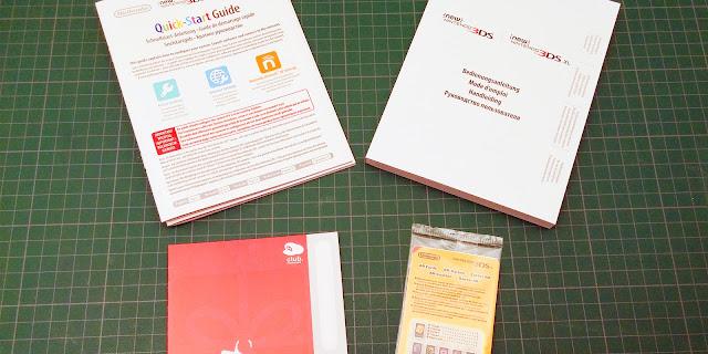 Photo des documents inclus dans le pack New 3DS XL Zelda Majora's Mask 3D édition collector