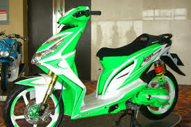 honda beat modifikasi