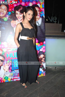 Sonal Chauhan at Hum Tum Shabana film bash