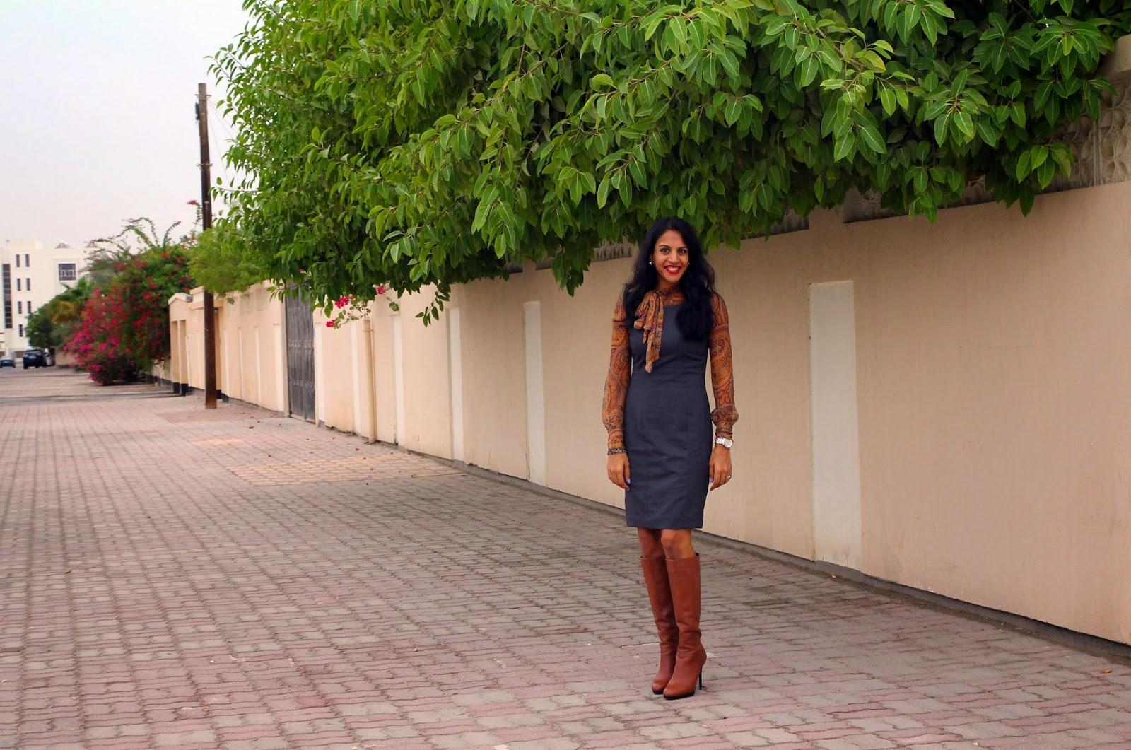 Blouse Old Dress H&m