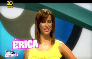 """Erica mostra a sua """"pipi"""" (video)"""