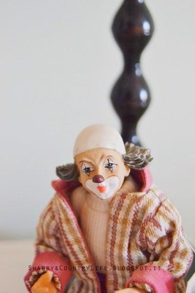 clown proveniente dall'Isola di Wight